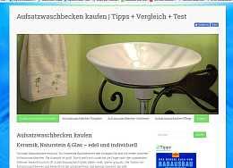Aufsatzwaschbecken Vergleich von Glas, Keramik und Stein mit Montage-Tipps, Raumfrei Webdesign Erfurt Thüringen