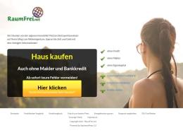RaumFrei.net Vergleichsportal für Kredite, Versicherungen, Strom und mehr, Gratis E-Book Finanzierung, Raumfrei Webdesign Erfurt Thüringen