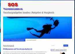 Ratgeber, Vergleich, Tipps zu Tauchsignalgebern, Webdesign Erfurt, Raumfrei.de