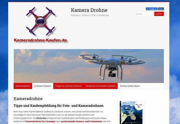 Tipps und Vergleich zum Kauf einer Kameradrohne, Webdesign Erfurt, Raumfrei.de