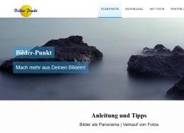 Bilder-Punkt.de, Postershop und Infoseite für Panoramafotografie, Raumfrei Web Design Erfurt Thüringen