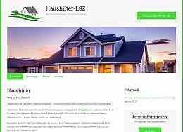 Internetpräsenz der Haushüter Agentur Bad Langensalza, by Raumfrei Webdesign Erfurt