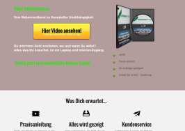 Tipps zum Online Marketing, das perfekte Laptopbusiness, Landingpage für Online-Webinare, Raumfrei Webdesign Erfurt in Thüringen