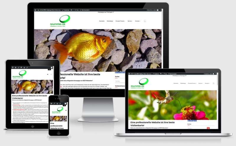 Responsive Webdesign Erfurt Thüringen