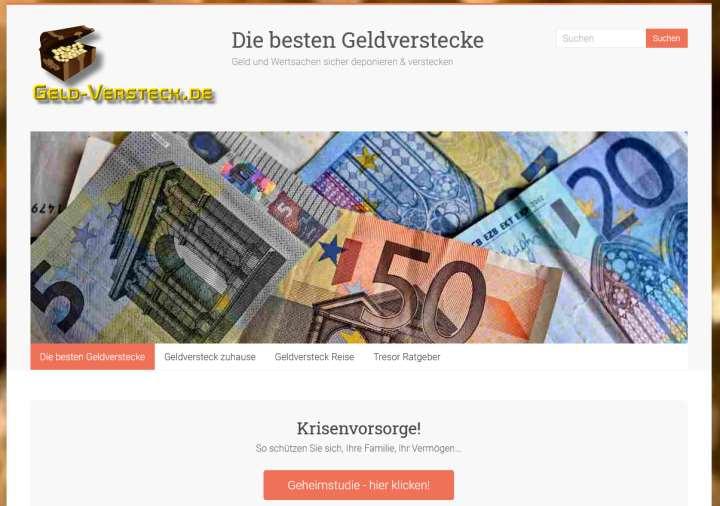 Geld verstecken