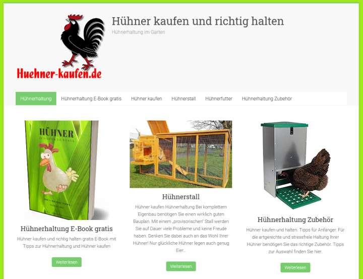 Hühner kaufen und halten